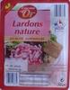 Lardons nature Qualité Supérieure - Product