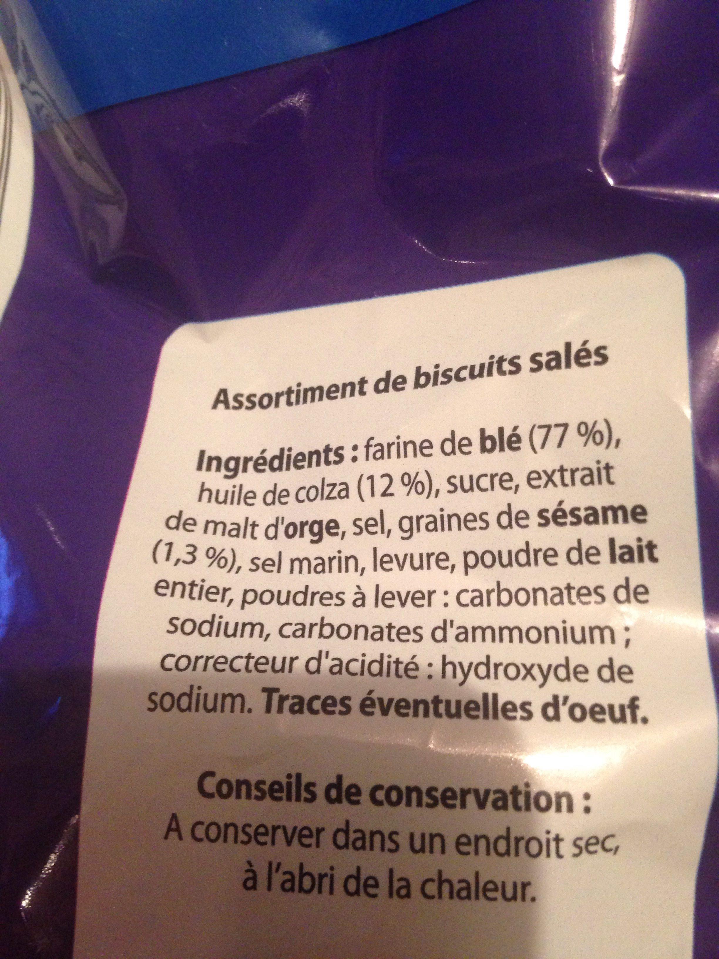 Party snacks - Ingrédients - fr