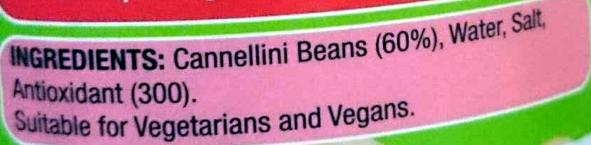 Cannellini Beans - Ingredients - en