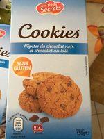Cookies pépites chocolat noir et chocolat au lait - Product - fr
