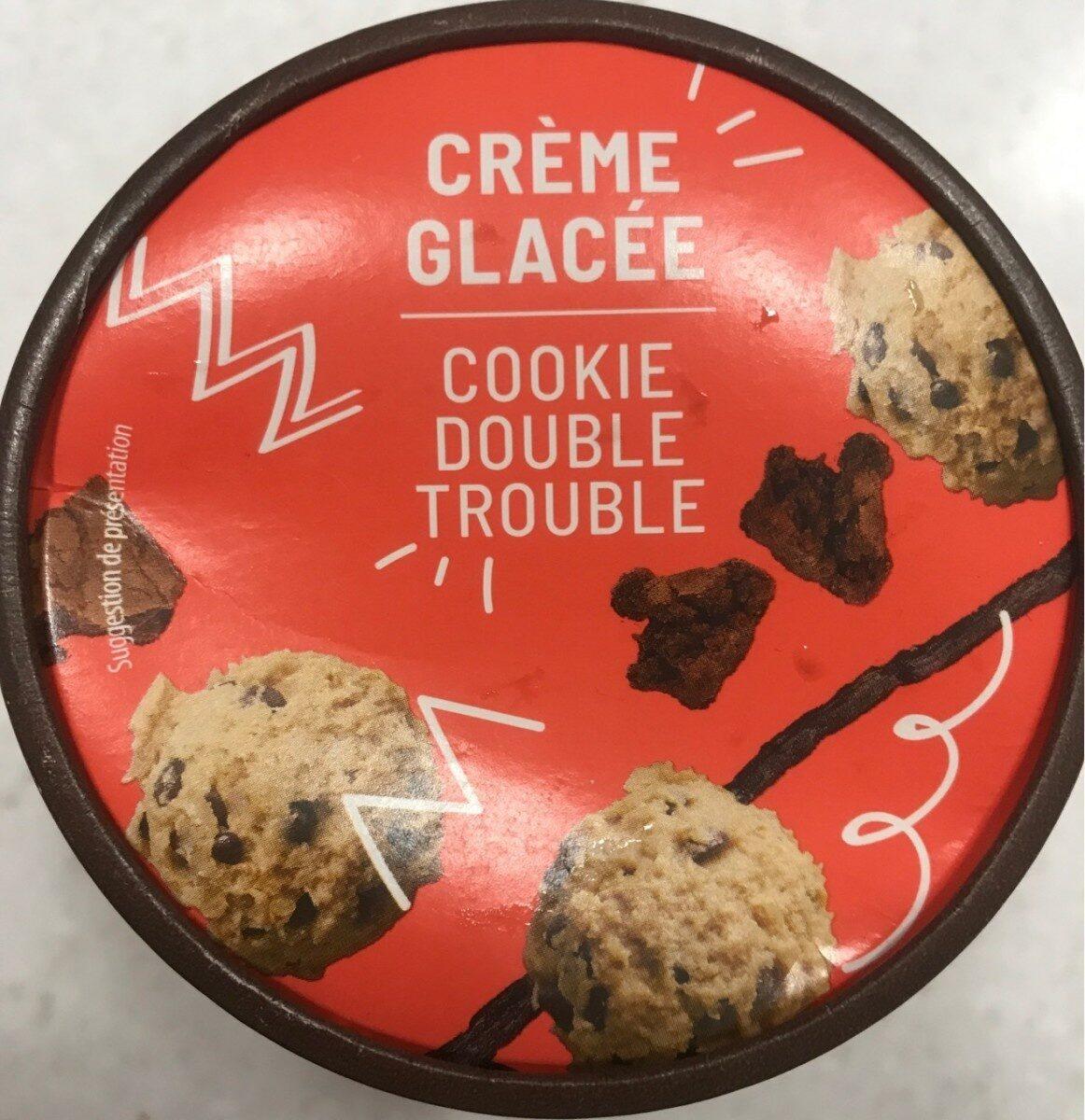 Crème glacée cookie double trouble - Produit