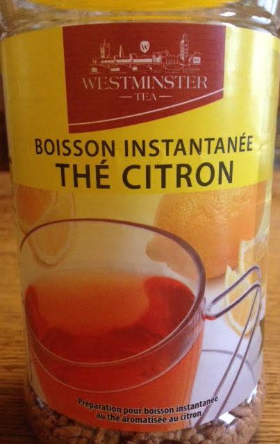 Boisson Instantanée Thé Citron - Product