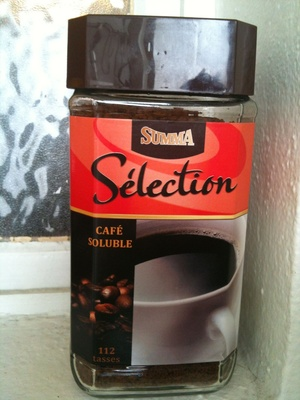 Café soluble sélection - Product - fr