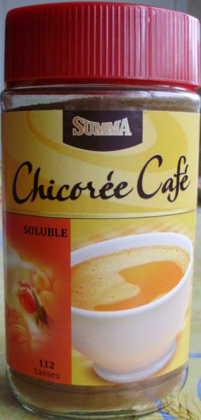 Chicorée Café Soluble 112 Tasses Summa 200 G