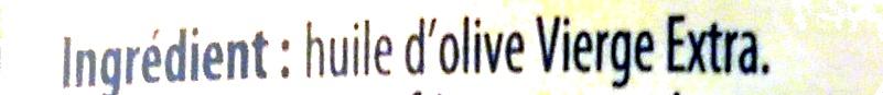 Huile d'olive - Ingredients