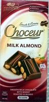 Milk Almond Chocolate - Product - en