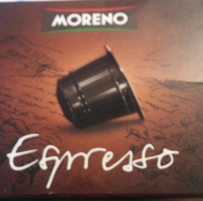 Moreno espresso - Produit - fr