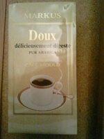Café Moulu Doux Pur Arabica 500g - Product - fr