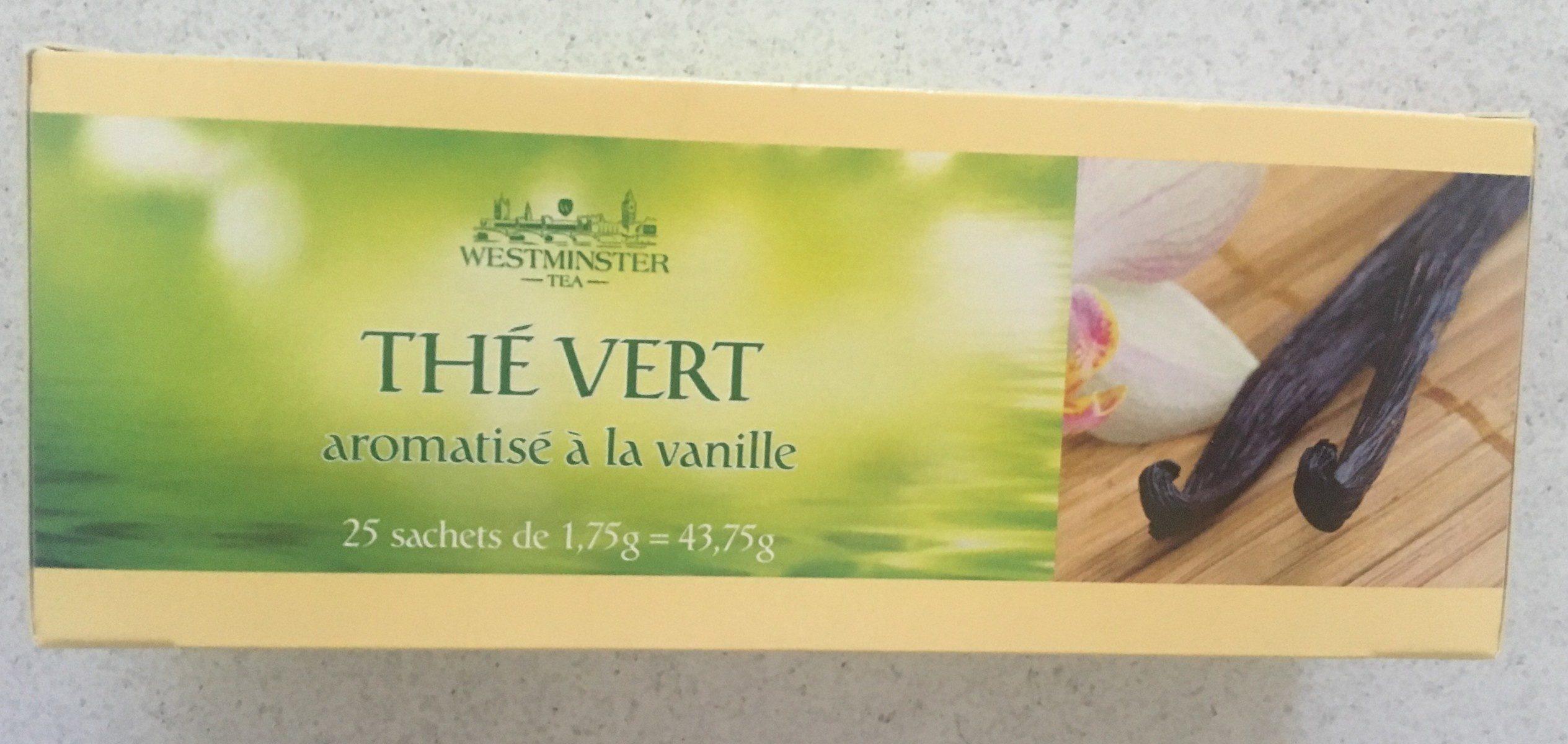 Thé Vert Nature aromatisé à la vanille - Product