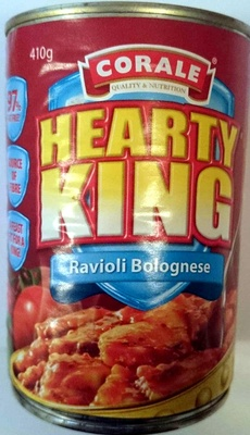 Corale Hearty King Ravioli Bolognese - Product - en