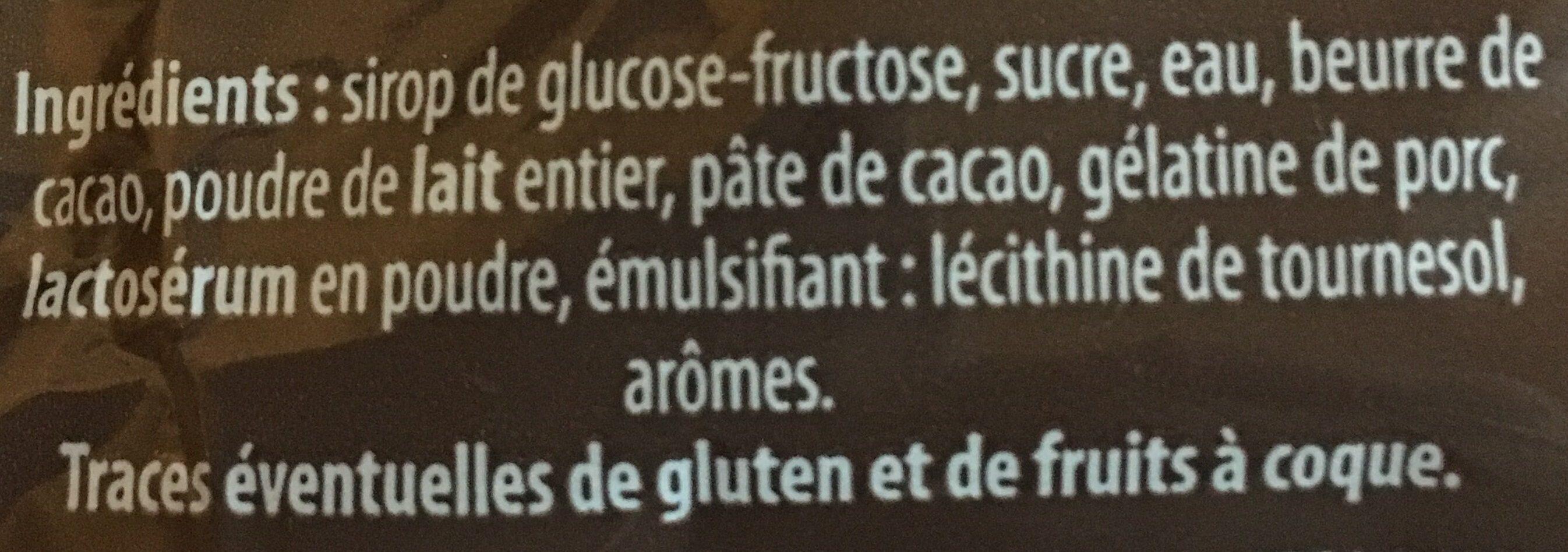 Oursons guimauves fantaisies - Ingrédients