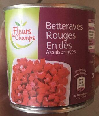 Betteraves Rouges en dés assaisonnées - Produit - fr