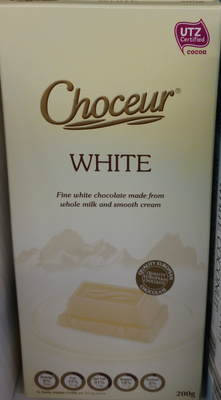 Choceur White Chocolate - Product