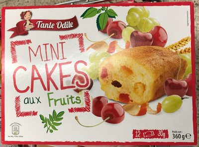 Mini cakes aux fruits - Product - fr