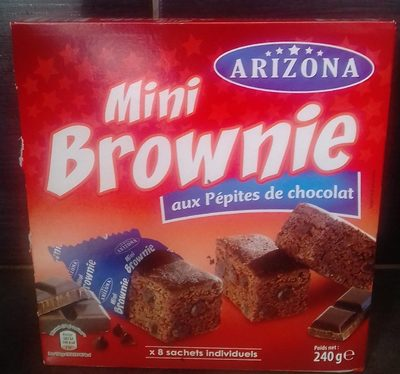 mini Brownie aux pepites de chocolat - Product - fr