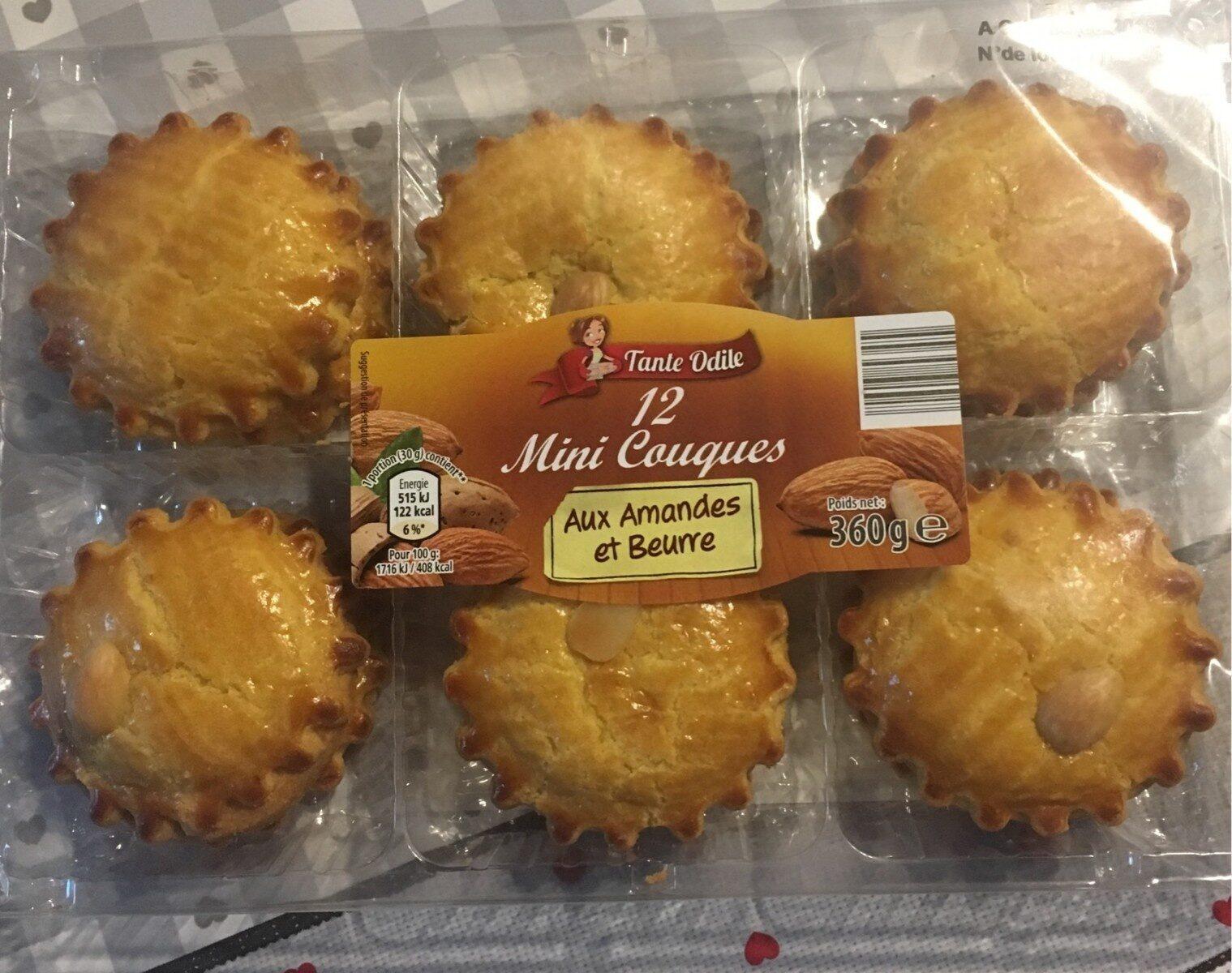Mini couques aux pommes et beurre - Produit - fr