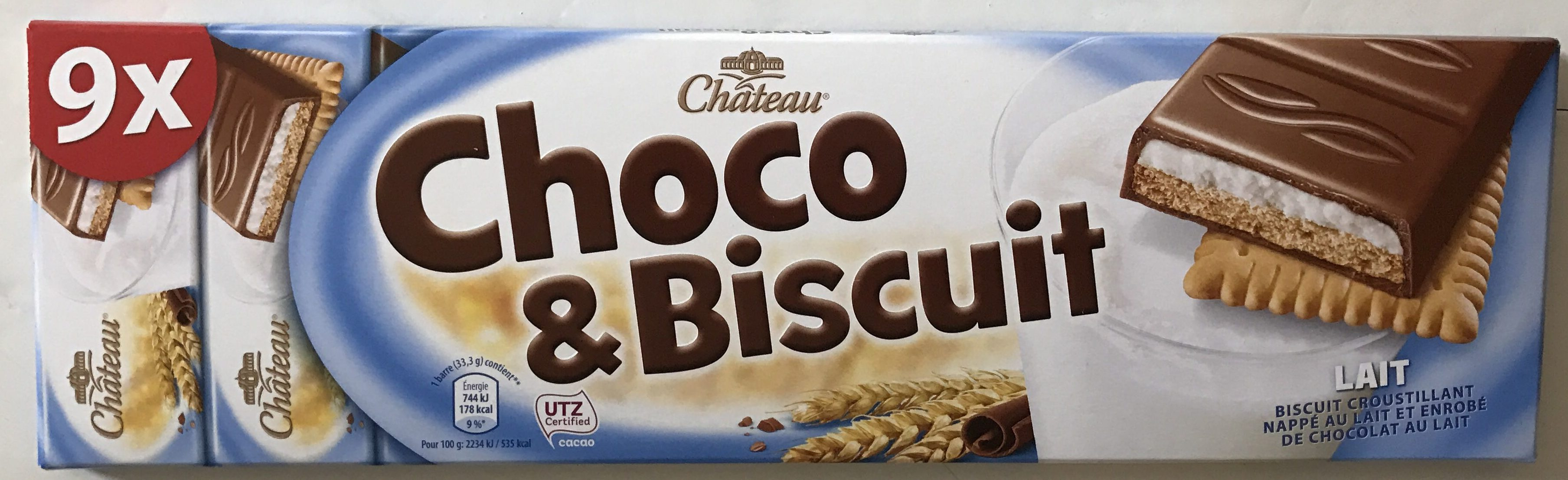 Choco & Biscuit Lait ou Choco & Biscuit Cappuccino - Product