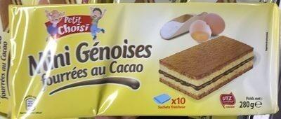 Mimi génoise fourrée cacao - Product - fr