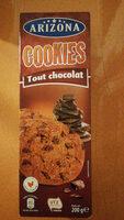 Cookies aux pépites de chocolat et à la nougatine - Produit - fr