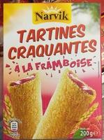 Tartines craquantes à la framboise - Produit - fr