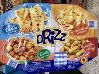 Drizz - Assortiment de produits soufflé à base de maïs - Produit - fr
