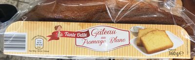 Gâteau au fromage blanc - Product - fr