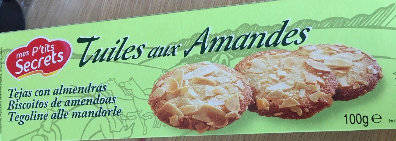 Tuiles aux amandes - Produit - fr