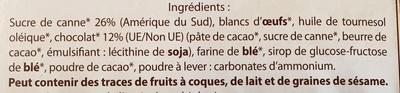 Bio cookies - Inhaltsstoffe - fr