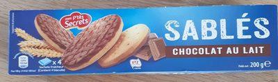 Sablés - chocolat au lait - Product - fr