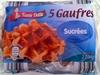 5 Gaufres sucrées - Produit