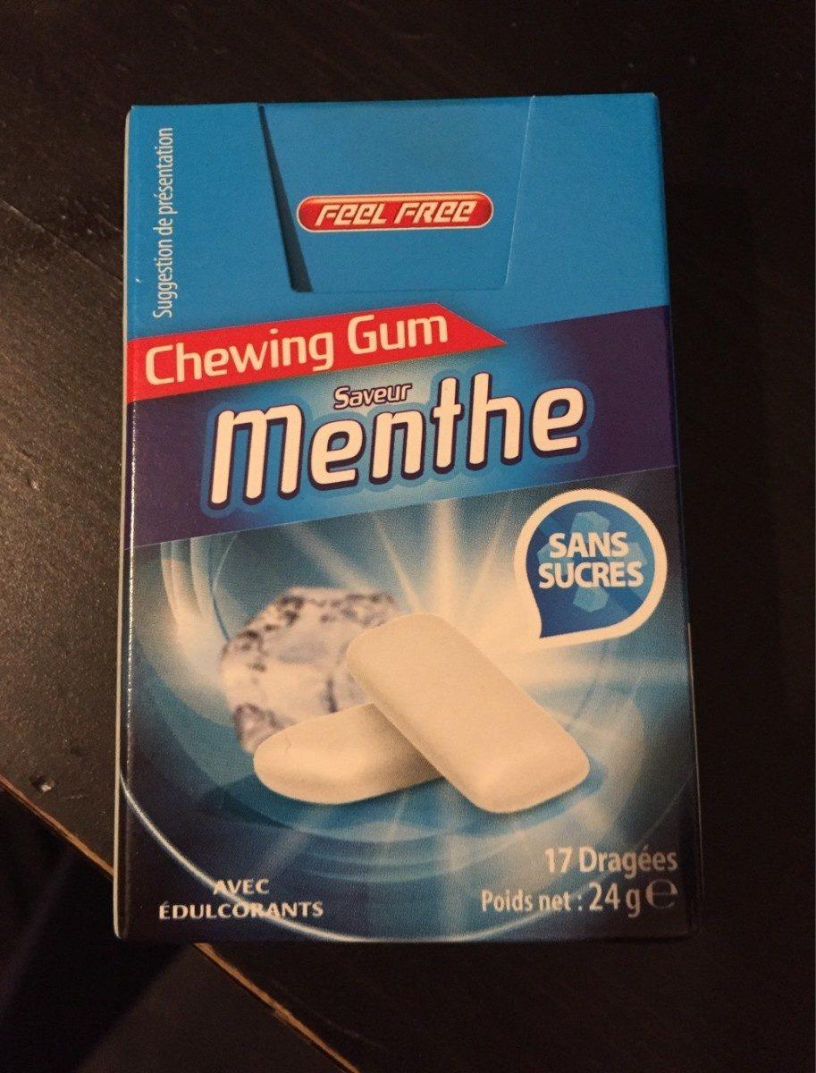 Chewing gum sans sucres Chlorophylle - Product - fr