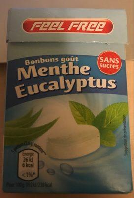 Bonbons goût Menthe Eucalyptus/ Bonbons goût Cranberry - Produit
