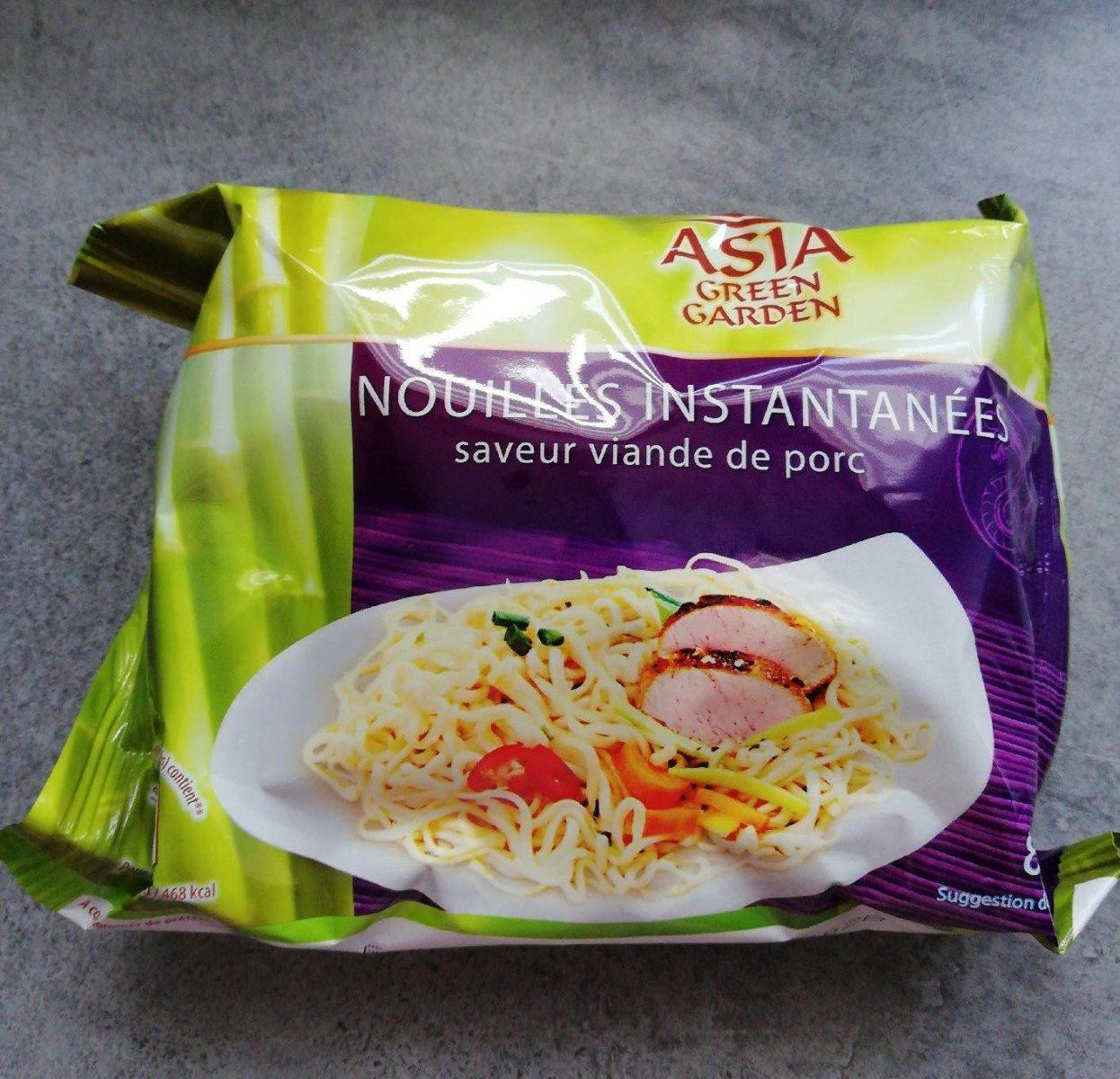 Nouilles instantanées Saveur viande de porc - Product