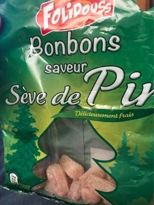 Bonbons saveur sève de pin - Product