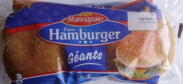 Pains Hamburger Géants (x 4) - Product