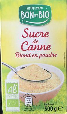 Sucre de canne blond en poudre - Product