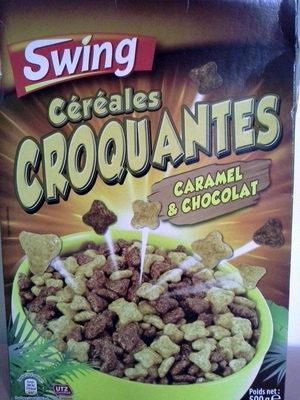 Céréales choco caramel croquantes - Produit