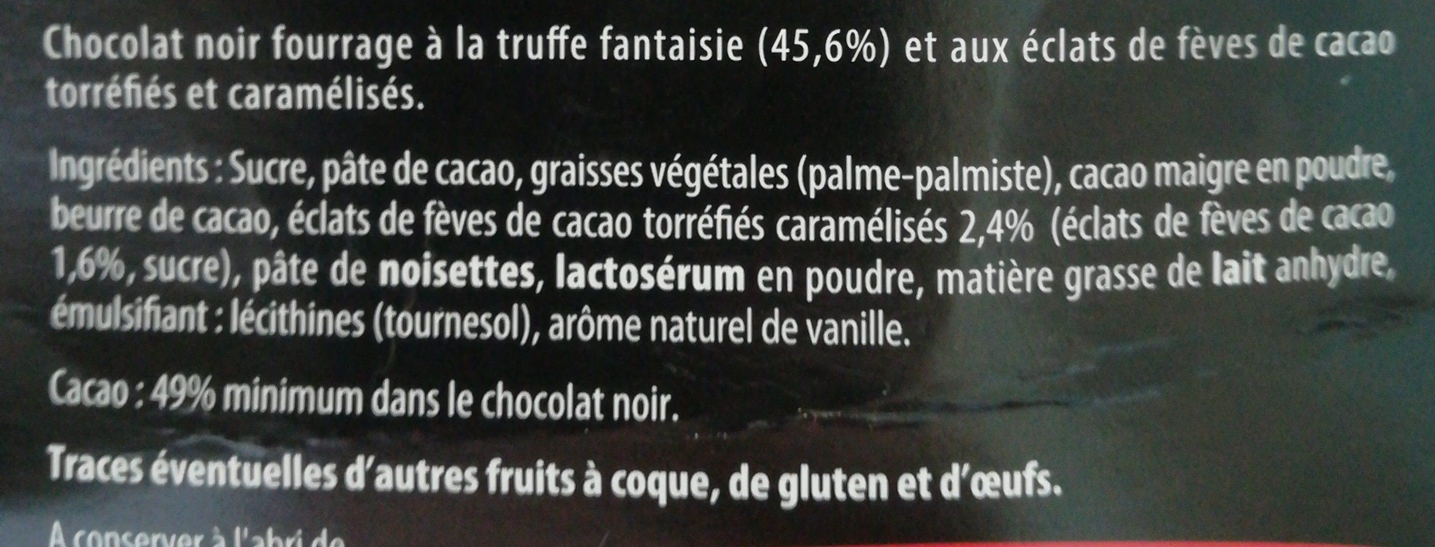 Scholetta chocolat praliné lait - Ingredients - fr