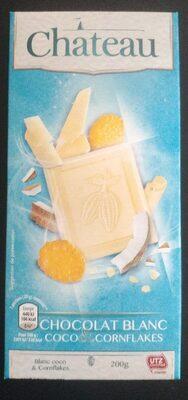 Chocolat blanc coco et cornfalkes - Produit - fr