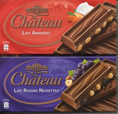 Lait amandes ou lait raisins noisettes - Produit - fr
