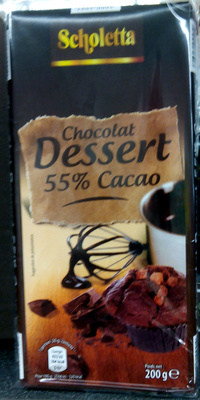 Chocolat dessert 52% cacao - Product