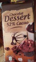Chocolat dessert 52% cacao - Voedigswaarden