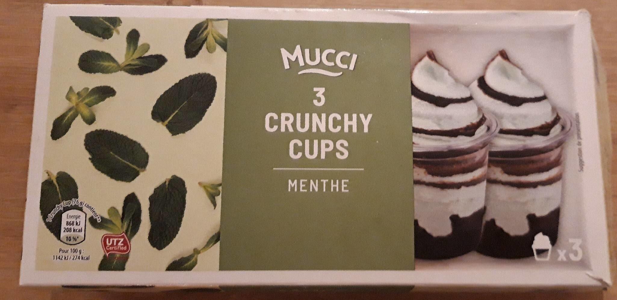 3 Crunchy cups - Produit