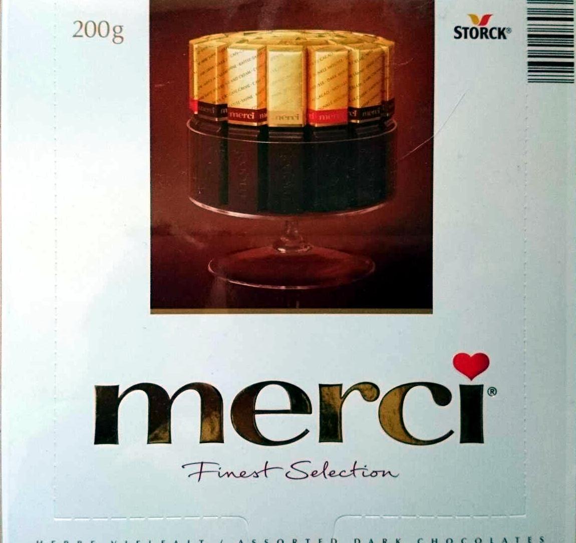 Merci Finest Selection Dark Chocolates - 200g