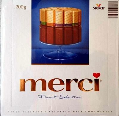 Merci Finest Selection Milk Chocolates - Product - en