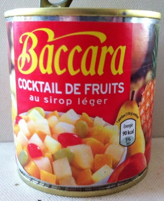 Cocktail de fruits au sirop léger - Produit - fr