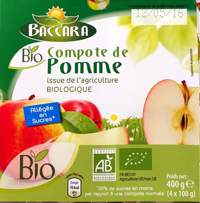 Compote pomme & poire - Product