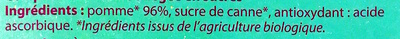 Compote pomme & poire - Ingrediënten - fr