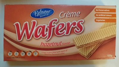 Creme Wafers Hazelnut Flavour - Product - en