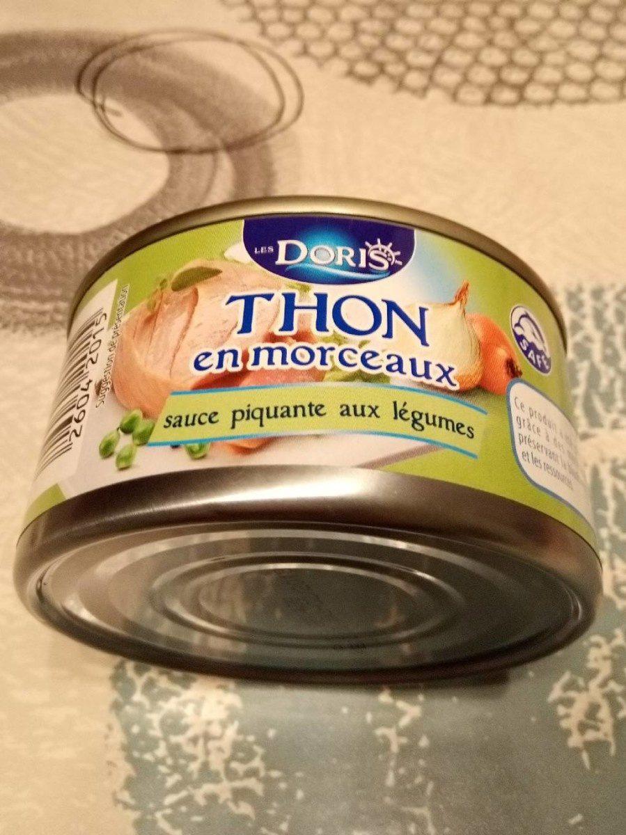Thon en morceaux sauce piquante - Produit - fr